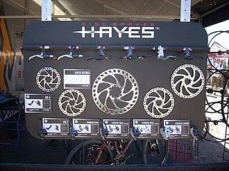Hayes Brake - Various Hayes disk brake rotors.