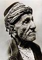 Head of a Turkish man wearing a turban, facing left, reputed Wellcome V0029770.jpg