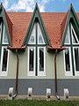 Heart of Jesus Church, windows, Egregy, 2016 Hungary.jpg