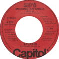 Heaven Must Be Missing an Angel (Part 1) by Tavares US vinyl.png