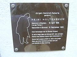 Photo of Bronze plaque number 10537