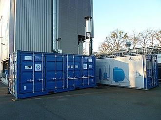 Power-to-gas - HELMETH Power-to-Gas Prototype
