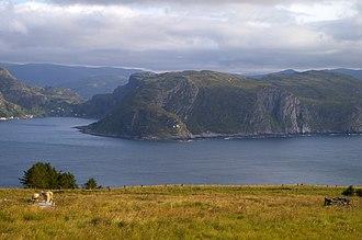 Vågsøy (island) - Image: Hendanes fyr