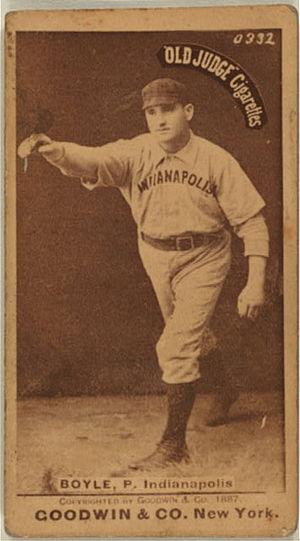 Henry Boyle (baseball) - Image: Henry Boyle