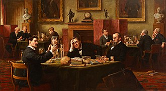 Royal College of Surgeons of England - Royal College of Surgeons, Court of Examiners (1894) by Henry Jamyn Brooks