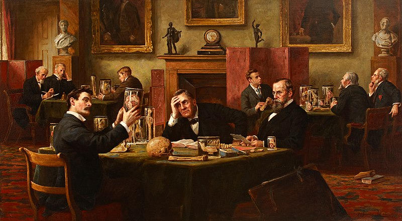 Henry Jamyn Brooks - The Viva - 1894