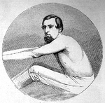 Henry Kelley, Illustrated Sporting News, 12 July 1862.png