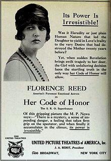 <i>Her Code of Honor</i> 1919 film by John M. Stahl