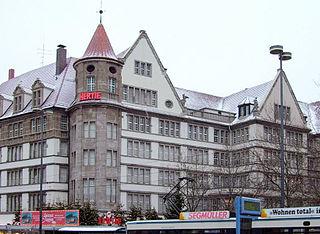 Karstadt München Bahnhofplatz department store in Munich, Bavaria, Germany
