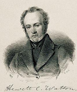 Hewett Watson English botanist