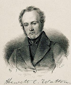 Hewett Watson - Hewett Cottrell Watson c. 1839