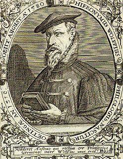 Hieronymus Wolf German historian