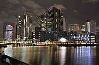 Higashi-Shinagawa at night.JPG
