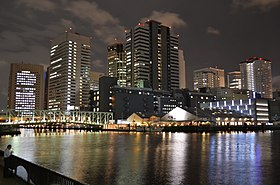 Higashi-Shinagawa at night.JPG