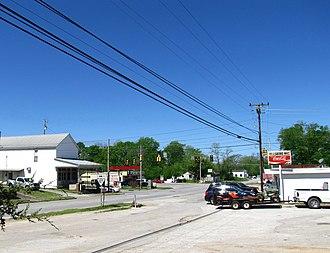 Hillsboro, Tennessee - Image: Hillsboro TN127 US41 tn 1