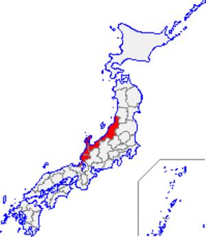 Hokuriku region - Hokuriku region