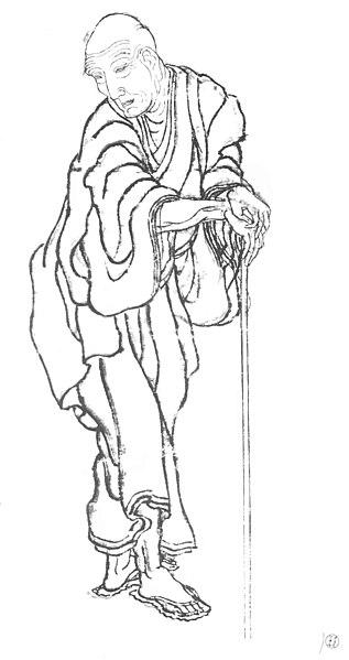 Portrait of Katsushika Hokusai
