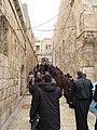 Holy Land 2019 (1) P098 Jerusalem Holy Sepulchre parvis Franciscan procession.jpg