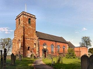 Baswich village in United Kingdom