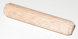 Dowel - Fluted wood dowel pin