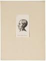 Homo sapiens - hoofd - Frankrijk, Europees - 1700-1880 - Print - Iconographia Zoologica - Special Collections University of Amsterdam - UBA01 IZ19400005.tif