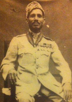 Order of British India - Honorary Lieutenant Pehlwan Khan OBI First class