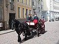 Horse carriage in Tallinn Old Town.jpg