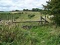 Horse jump, Knapp Down - geograph.org.uk - 1452081.jpg