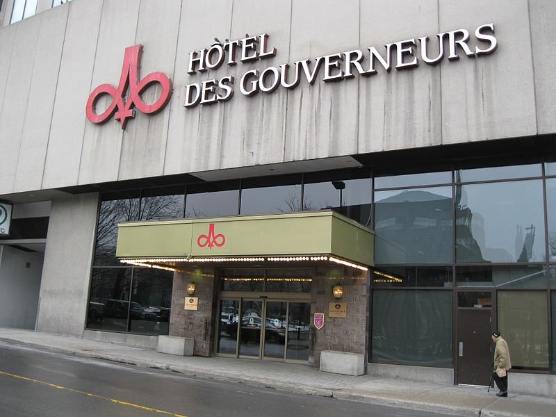 Gouverneurs Hotel Montreal