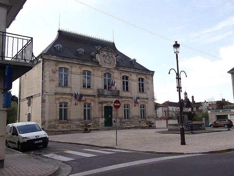 Statue de Napoléon et hôtel de ville (Inscrit)
