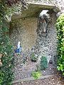 Houlle (Pas-de-Calais) grotte de Lourdes.JPG