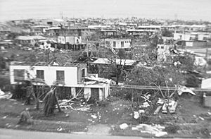 Cyclone Tracy - Houses after the destruction caused by Tracy