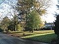 Houses set back behind trees, Grove Road - geograph.org.uk - 2192252.jpg