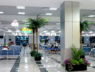 Hurghada International Airport - Departure area