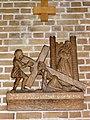 Huissen (Lingewaard) RK kerk kruisweg statie 03.JPG