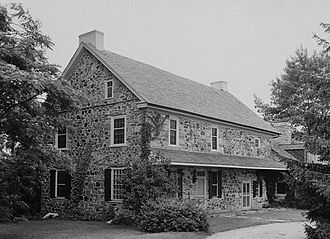 Humphry Marshall - Humphry Marshall House in Marshallton, now a National Historic Landmark