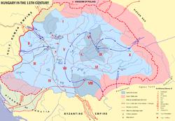 11. století Maďarsko
