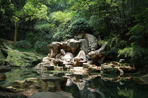 Dreaming of the Tiger Spring, Zhejiang province, China