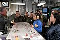 IDF Officers visit Supercarrier USS George H. W. Bush (CVN 77) (32902294295).jpg