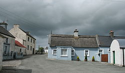 View of Galmoy village