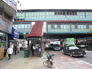 Fordham Road (IRT Jerome Avenue Line) - Eastern stair