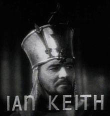 Ian Keith in The Crusades (1935) trailer.jpg