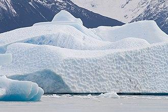 Los Glaciares National Park - Image: Iceberg Argentino lake