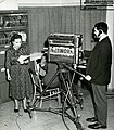 Ida Rhodes filming at IBM 001.jpg