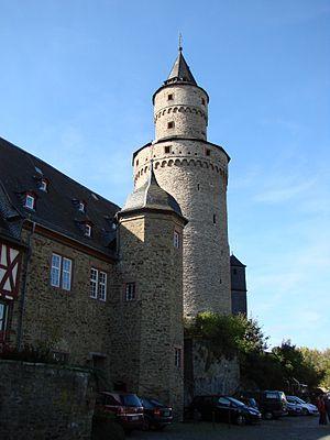 Idstein Castle - Castle building and Hexenturm