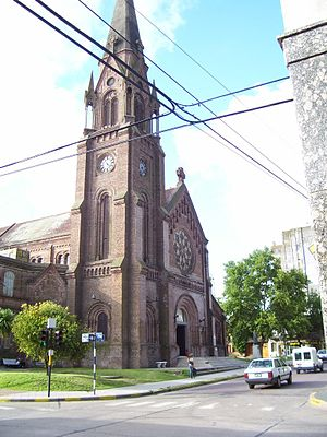 Pergamino - Church of Our Lady of Mercy.