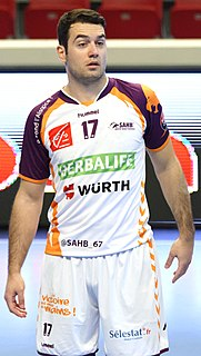 Igor Vujić Croatian handball player