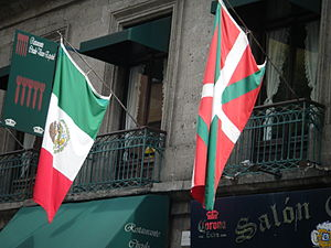 Basque Mexicans - Basque restaurant in the Historic Center of Mexico City