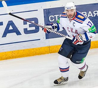Ilya Kovalchuk - Kovalchuk with SKA Saint Petersburg in 2012.