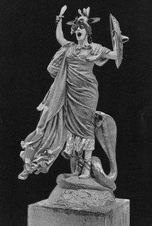 Enyo Greek goddess of war and destruction